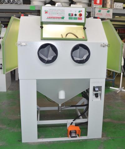 Sabbiatrici pallinatrici lampugnani usato sabbiatrice 6 2012 for Idrociclone per sabbia usato