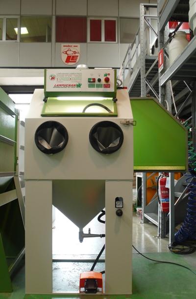 Sabbiatrici pallinatrici lampugnani usato sabbiatrice 1 2013 for Idrociclone per sabbia usato